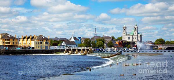 Wall Art - Photograph - Athlone City And Shannon River by Gabriela Insuratelu