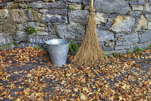 Sweeping Photograph - Autumn In The Garden by Joana Kruse