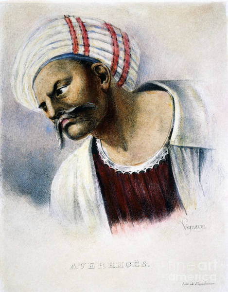Photograph - Averroes (1126-1198) by Granger