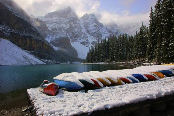 Plein Air Photograph - Banff by Rawimage Photography