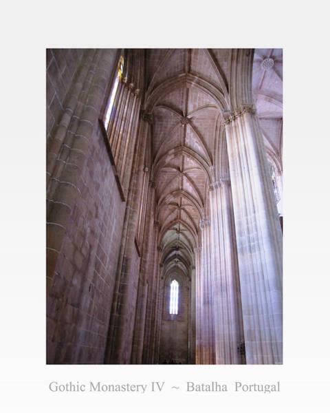 Photograph - Batalha Gothic Monastery Iv Portugal by John Shiron