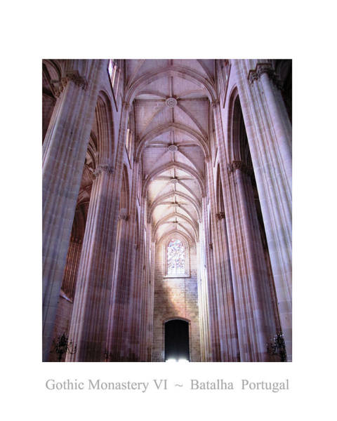 Photograph - Batalha Gothic Monastery Vi Portugal by John Shiron