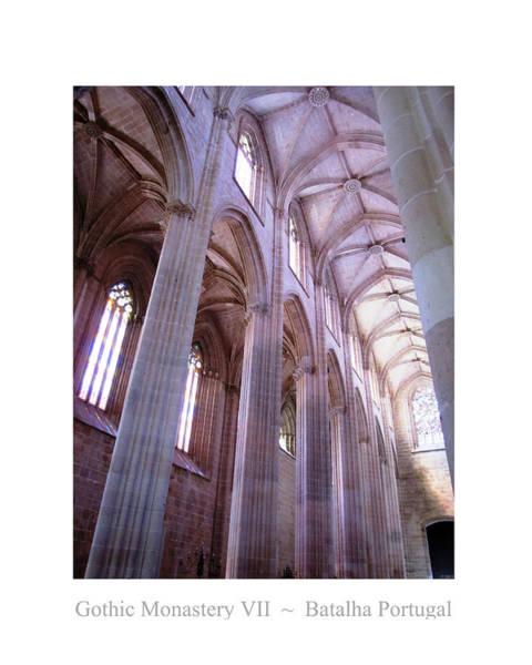 Photograph - Batalha Gothic Monastery Vii Portugal by John Shiron