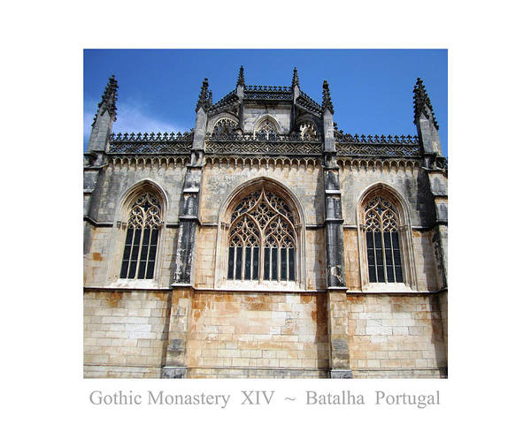 Photograph - Batalha Gothic Monastery Xiv Portugal by John Shiron