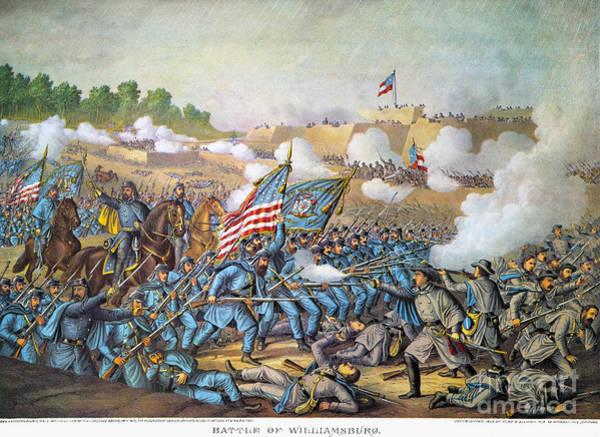 Allison Photograph - Battle Of Williamsburg by Granger