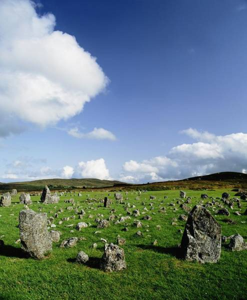 Strange Land Wall Art - Photograph - Beaghmore Stone Circles, Co. Tyrone by The Irish Image Collection