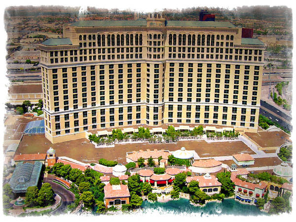 Bellagio Hotel Photograph - Bellagio - Impressions by Ricky Barnard