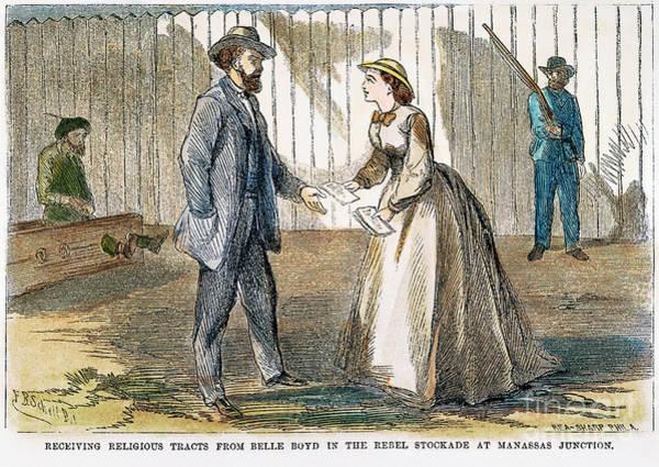 Boyd Photograph - Belle Boyd (1843-1900) by Granger