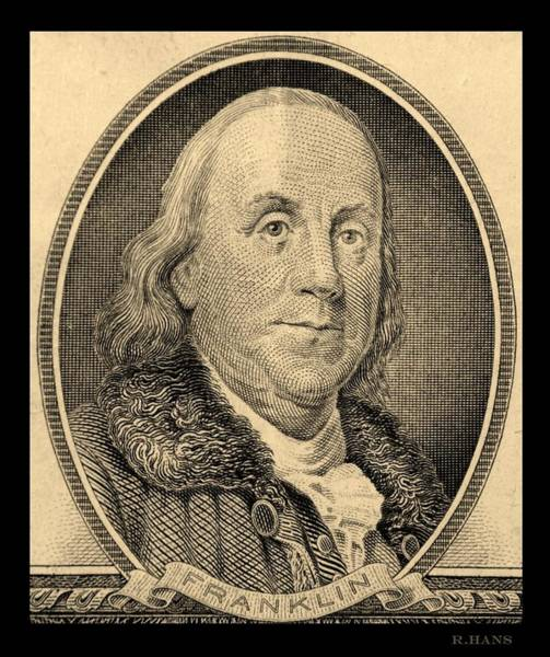 Photograph - Ben Franklin In Sepia by Rob Hans