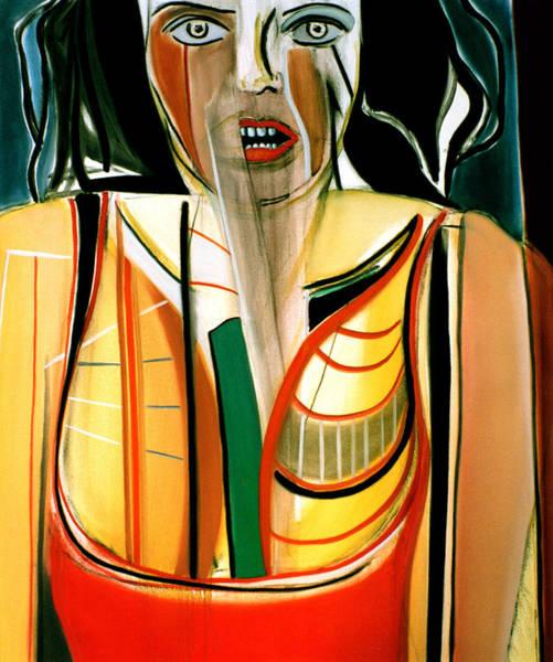 Iggy Pop Painting - Betty Pop by Fabrice Plas