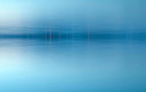 Teton National Park Digital Art - Blue Lake by Odon Czintos