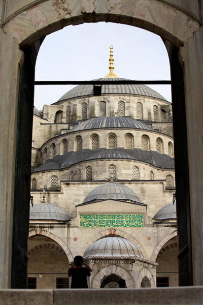 Sultan Ahmet Camii Wall Art - Photograph - Blue Mosque by Artur Bogacki