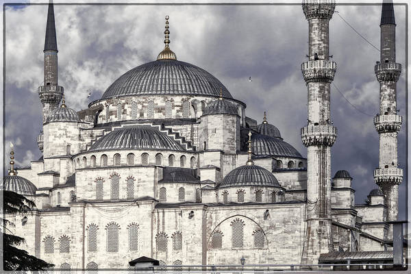 Mosque Photograph - Blue Mosque by Joan Carroll