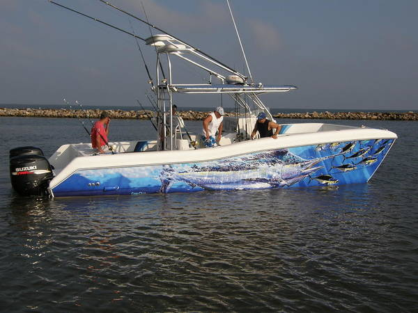 Chen Digital Art - Boat Wrap by Carey Chen