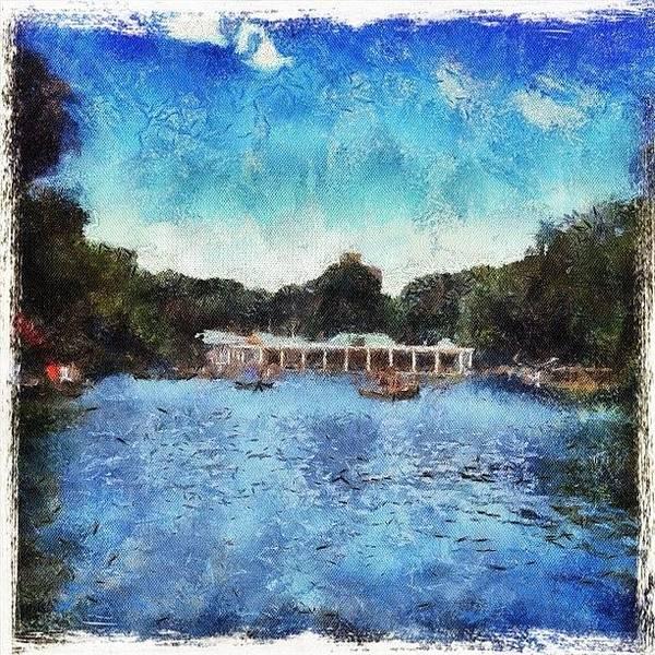 Wall Art - Photograph - Boathouse Impressions by Natasha Marco