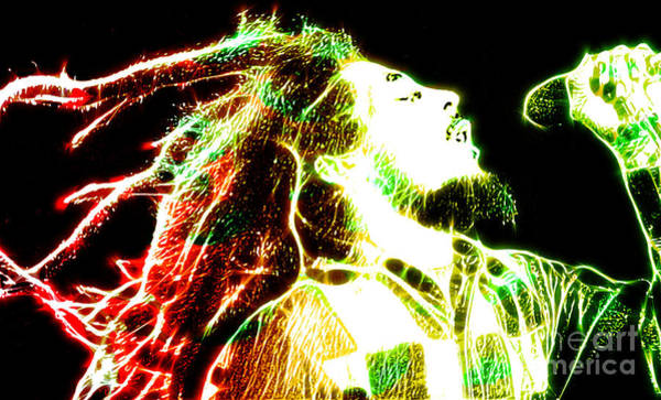 Urban Legend Digital Art - Bob Marley by The DigArtisT