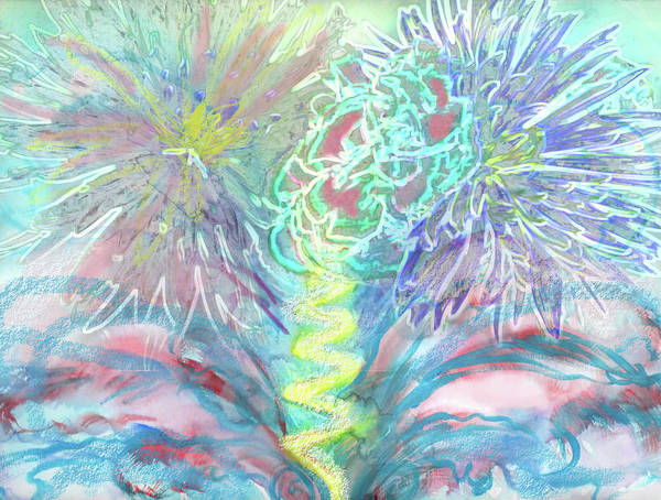 Painting - Brain Storm Birth Of An Idea by Anne Cameron Cutri