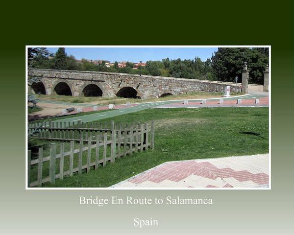 Photograph - Bridge En Route To Salamanca by John Shiron