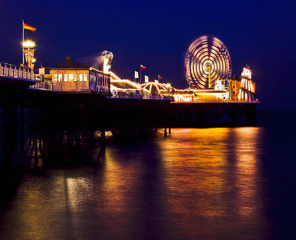 Palace Pier Wall Art - Photograph - Brighton Palace Pier by Dawn OConnor