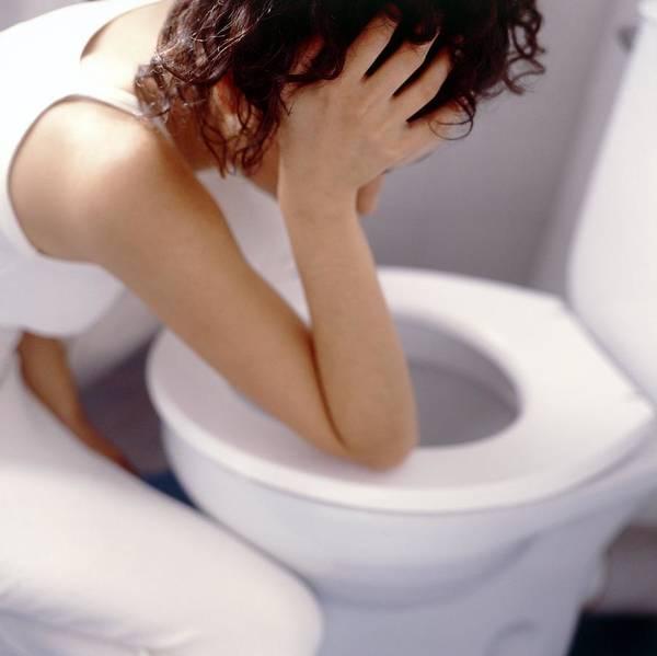 Toilet Photograph - Bulimia by Cristina Pedrazzini