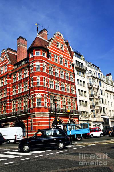 Wall Art - Photograph - Busy Street Corner In London by Elena Elisseeva
