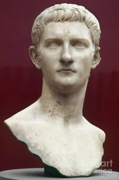 Photograph - Caligula (12-41 A.d.) by Granger
