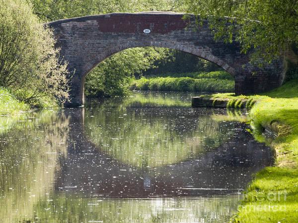 Stamford Bridge Wall Art - Photograph - Canal Bridge by Steev Stamford