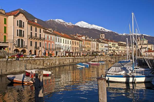 Motor Boat Photograph - Cannobio - Italy by Joana Kruse