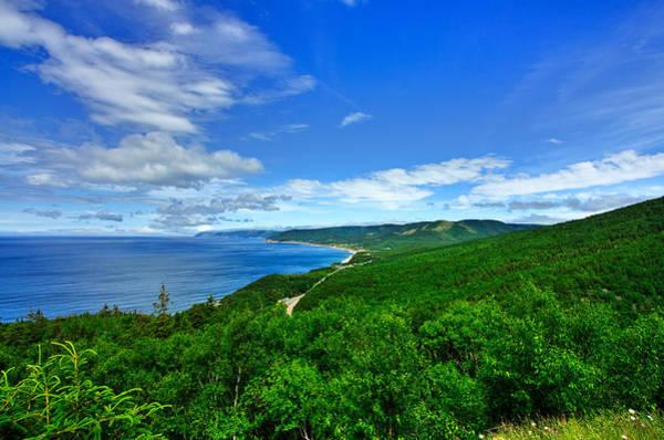 Cabot Trail Photograph - Cape Breton 2 by Nicolas Raymond