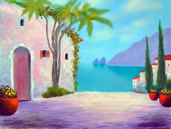 Capri Colors Art Print