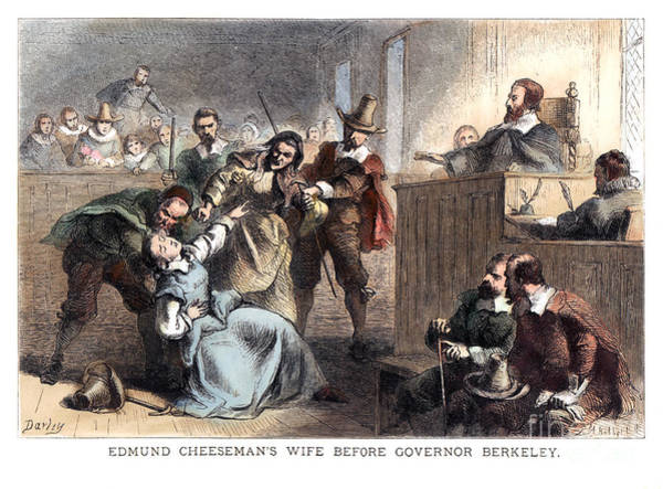 Amnesty Photograph - Cheesmans Wife, 1677 by Granger