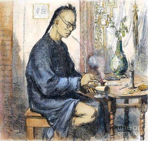 China: Opium, 1859 Art Print