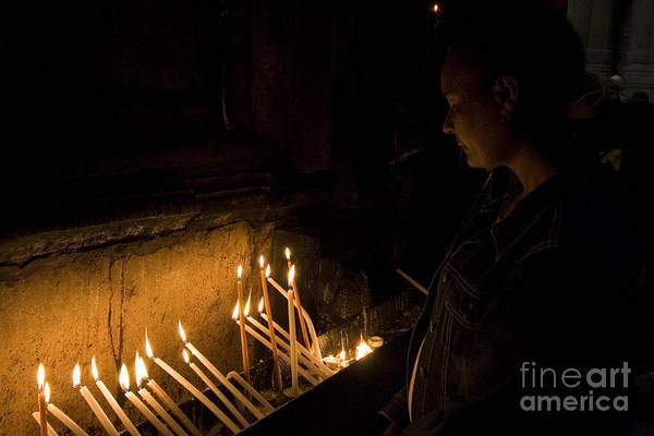 Virtue Photograph - Church Of The Holy Sepulchre by Danny Yanai