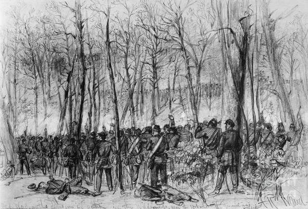 Photograph - Civil War: Wilderness by Granger