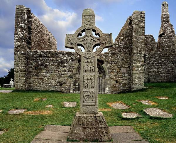 Dilapidation Wall Art - Photograph - Clonmacnoise, Co. Offaly, Ireland by The Irish Image Collection