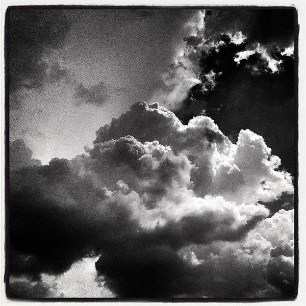 Blackandwhite Wall Art - Photograph - Cloud Porn by Dave Edens
