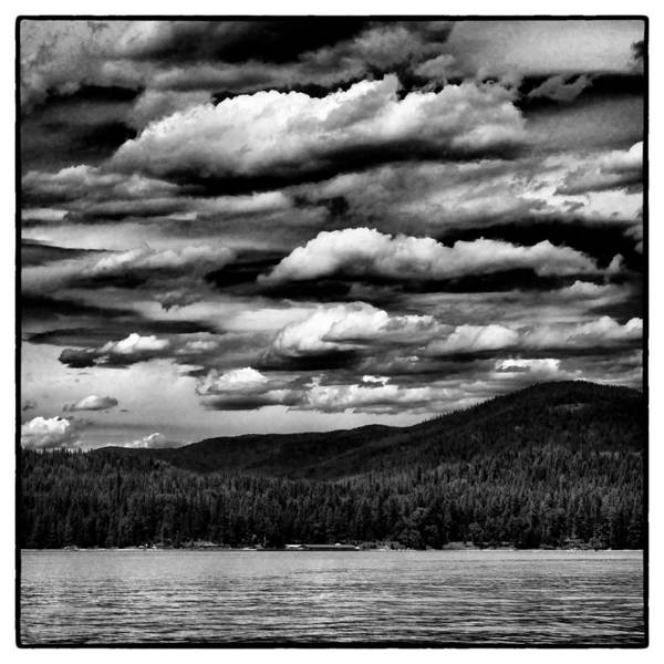Priest Lake Photograph - Clouds Over Elkins Resort by David Patterson