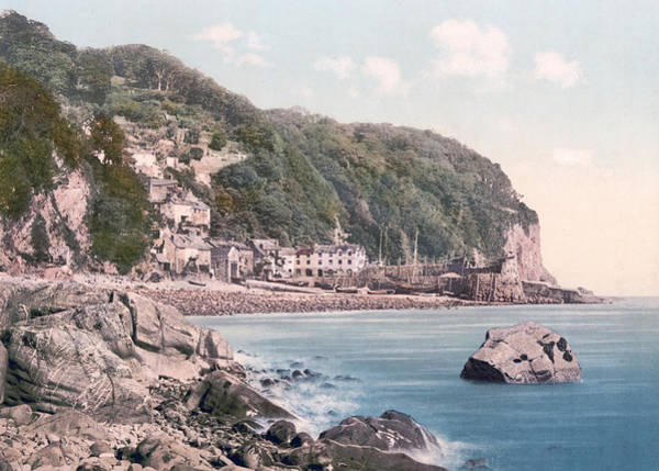 Bristol Channel Photograph - Clovelly - England - Harbor by International  Images