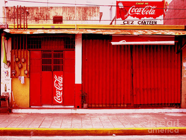 Photograph - Coke Stand by Christopher Shellhammer