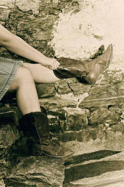 Body Parts Photograph - Cowboy Boots by Joana Kruse