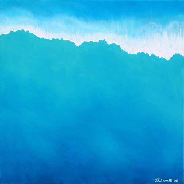 Painting - Crashing Wave by Jaison Cianelli