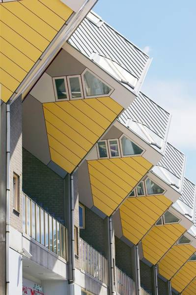 Cube House Wall Art - Photograph - Cube Houses, The Netherlands by Colin Cuthbert