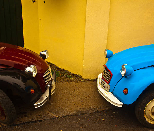 Wall Art - Photograph - Deux Deux Chevaux by Patrick  Flynn