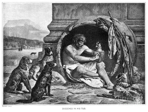 Photograph - Diogenes (c412-323 B.c.) by Granger
