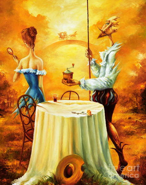 Painting - Don Qishote by Igor Postash