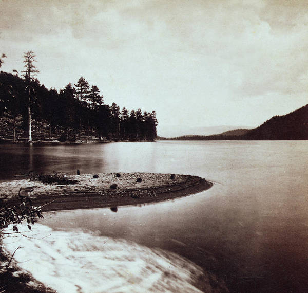 Donner Photograph - Donner Lake - California - C 1865 by International  Images