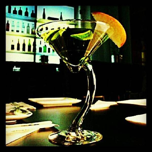Martini Wall Art - Photograph - Drink Of The Day...sour Apple Martini by Mary Carter
