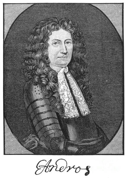 Andros Photograph - Edmund Andros (1637-1714) by Granger