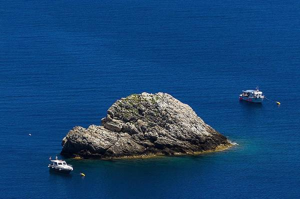 Photograph - Elba Island - One Island Two Boats - Ph Enrico Pelos by Enrico Pelos