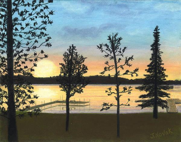 Wall Art - Pastel - Ely Sunset  by Jackie Novak